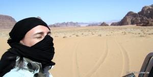 Nikki im Wadi Rum