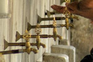Hamam: Ein Besuch im türkischen Dampfbad kann sehr entspannend sein.