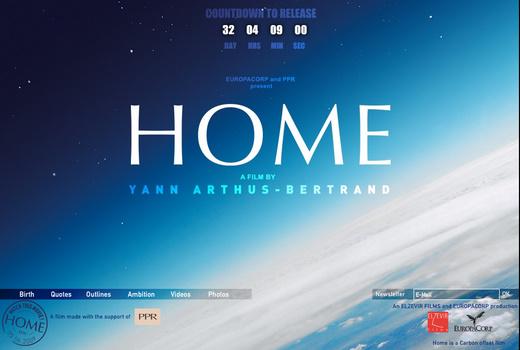 Home - der Film. Ein Hilferuf zur Rettung der Erde. Mit traurig schönen Bildern.