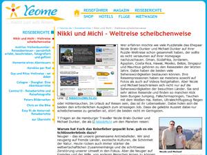 Nikki und Michi im Interview auf Yeome.de.