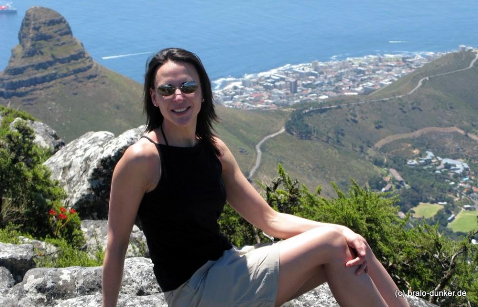 Nikki Bralo Dunker Tafelberg Suedafrika