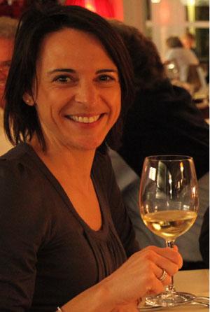Nikki auf der Toskana Weintour.