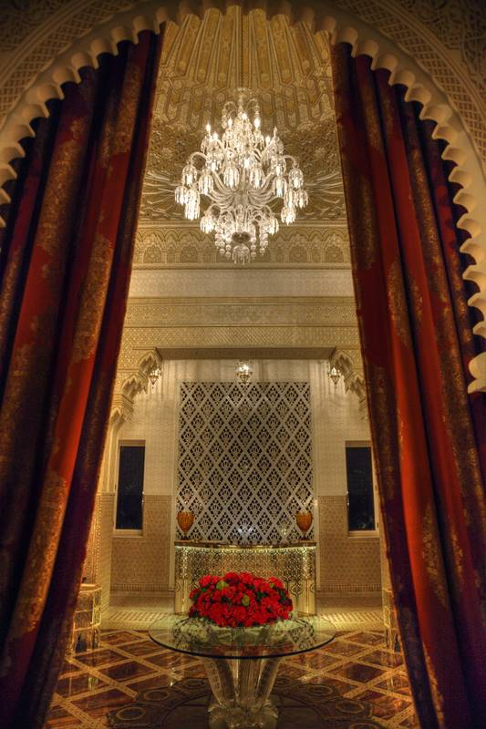 Rezeption im le Royal Mansour, Marrakesch
