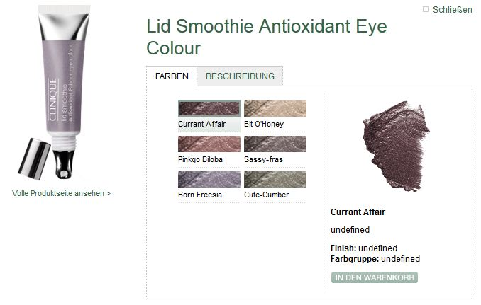 LID smoothie cliniqueLID smoothie cliniqueLID smoothie clinique